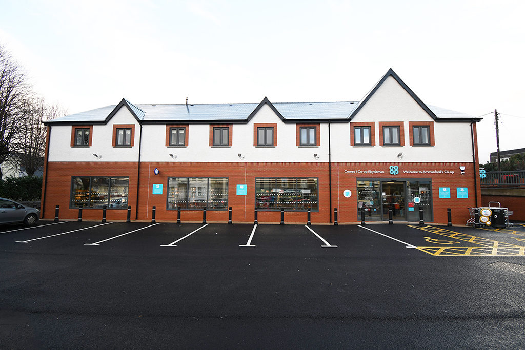 Co-op Ammanford front view