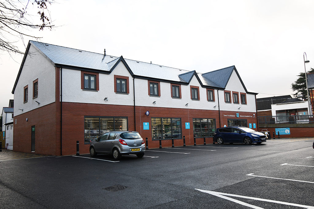Co-op Ammanford left hand side view