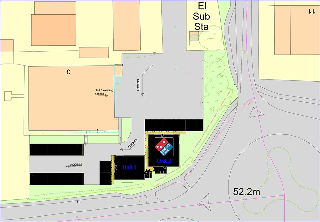 Honeyborough Neyland Site Plan