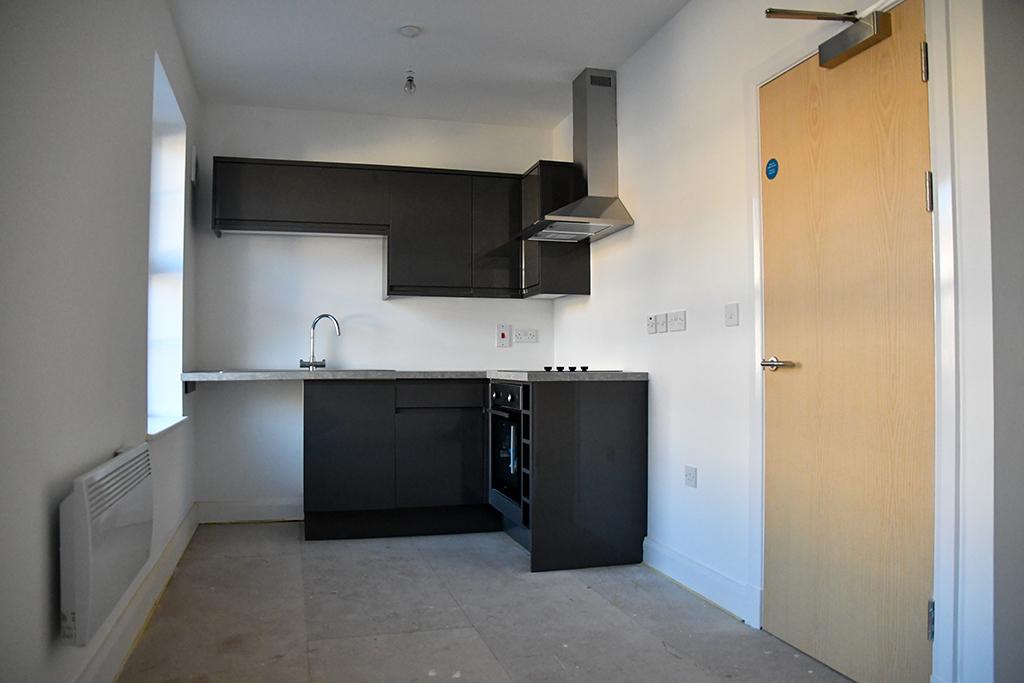 Flats Walter Road Swansea kitchen layout
